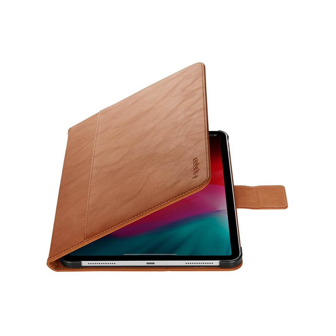 "Spigen Stand Folio Case for iPad Pro 11"" - Brown"
