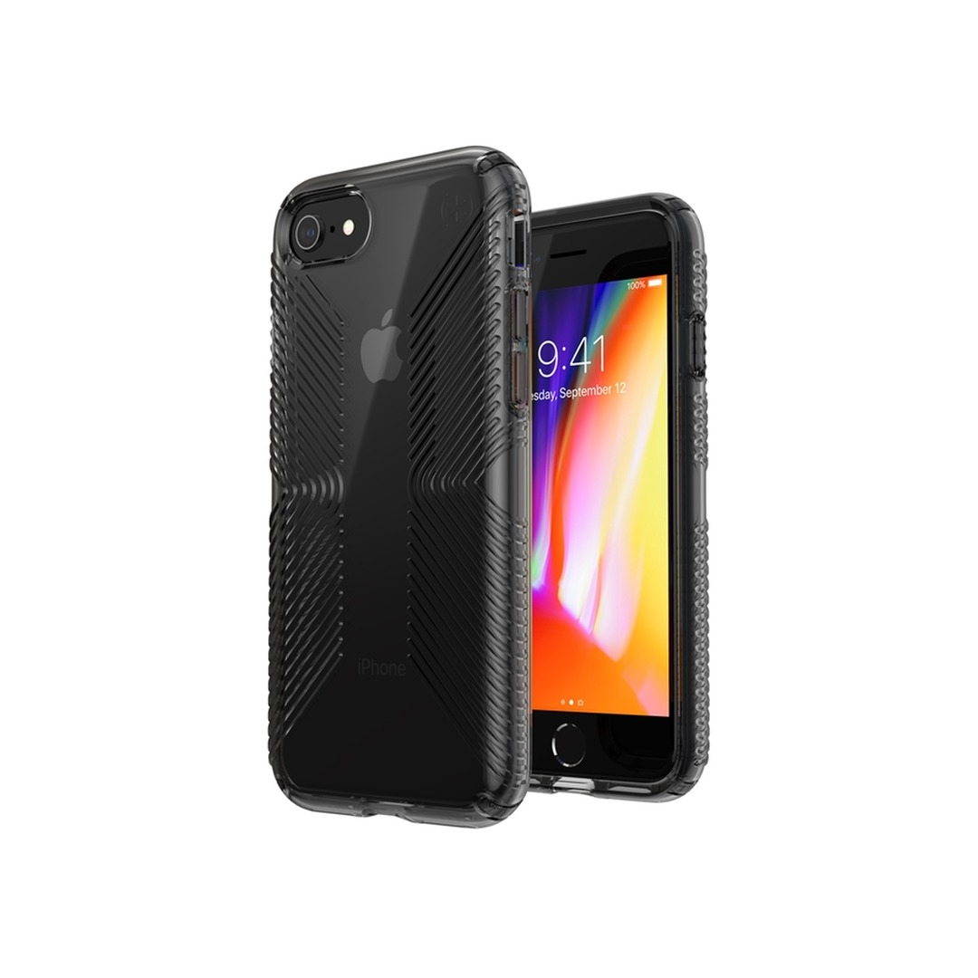 Speck Presidio Perfect Clear Grip iPhone SE-tok - Obsidian