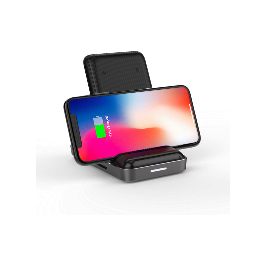 HyperDrive™ Hub USB-C + 7.5W Wireless Charger MacBook Pro - Asztroszürke