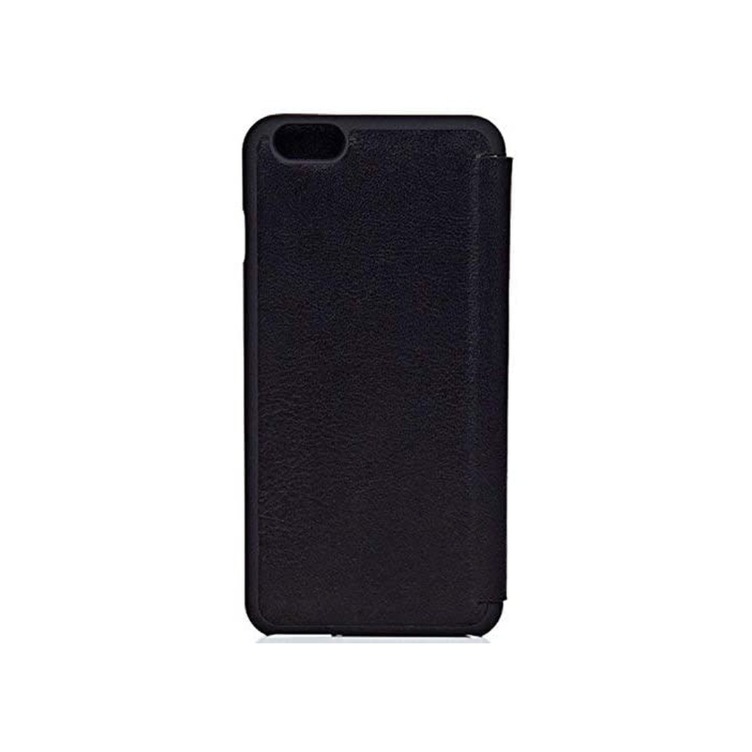 Knomo Leather Folio iPhone 6 Plus Black
