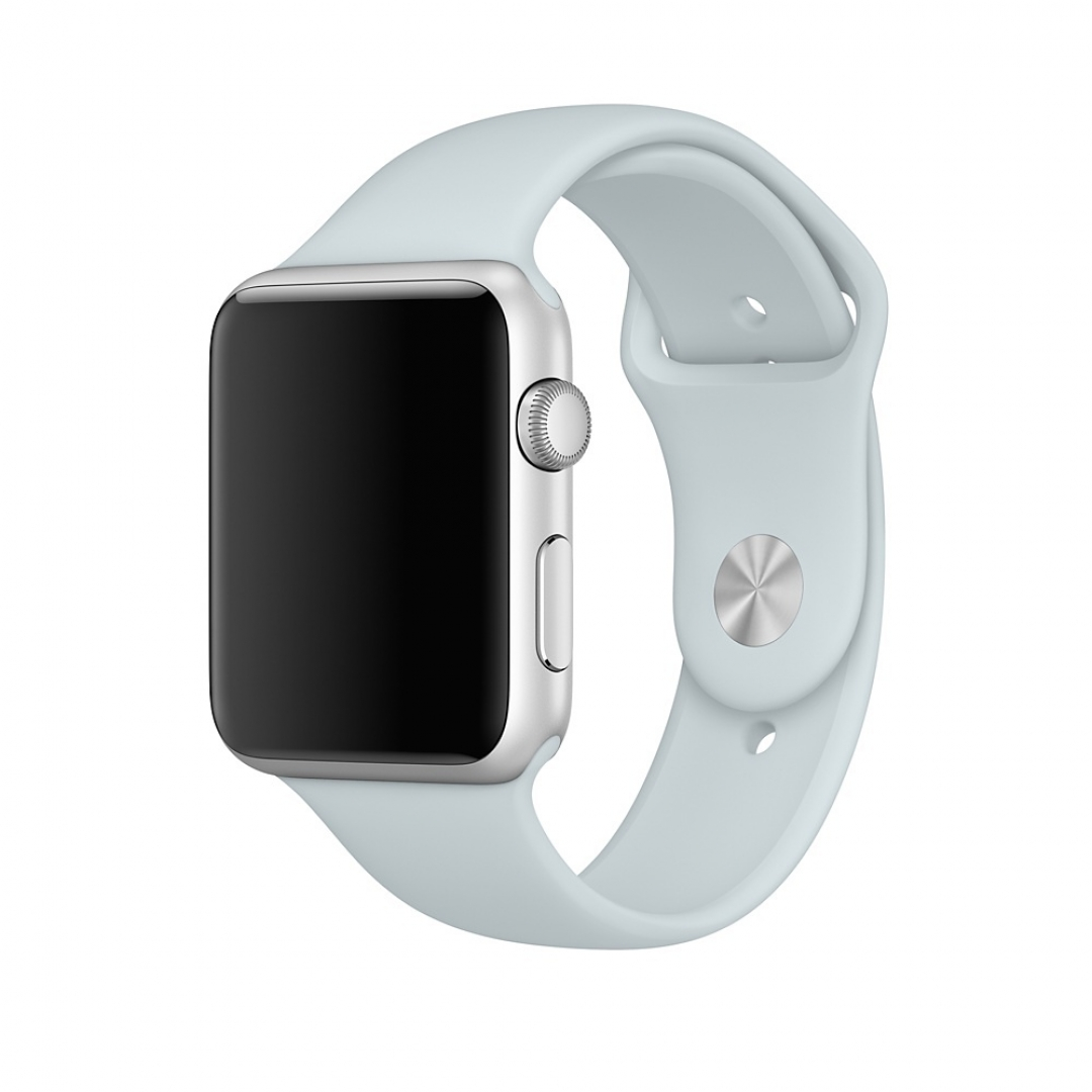 Apple Watch 42mm Band: Mist Blue Sport Band S/M & M/L