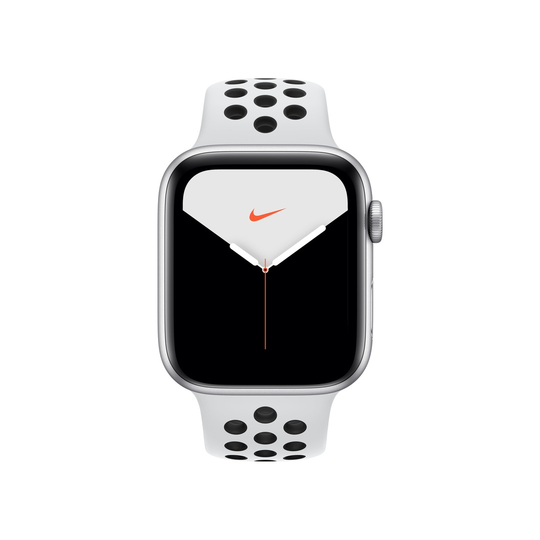 Apple Watch Nike Series 5 GPS - Silver Aluminium Case with Pure Platinum/Black Nike Sport Band
