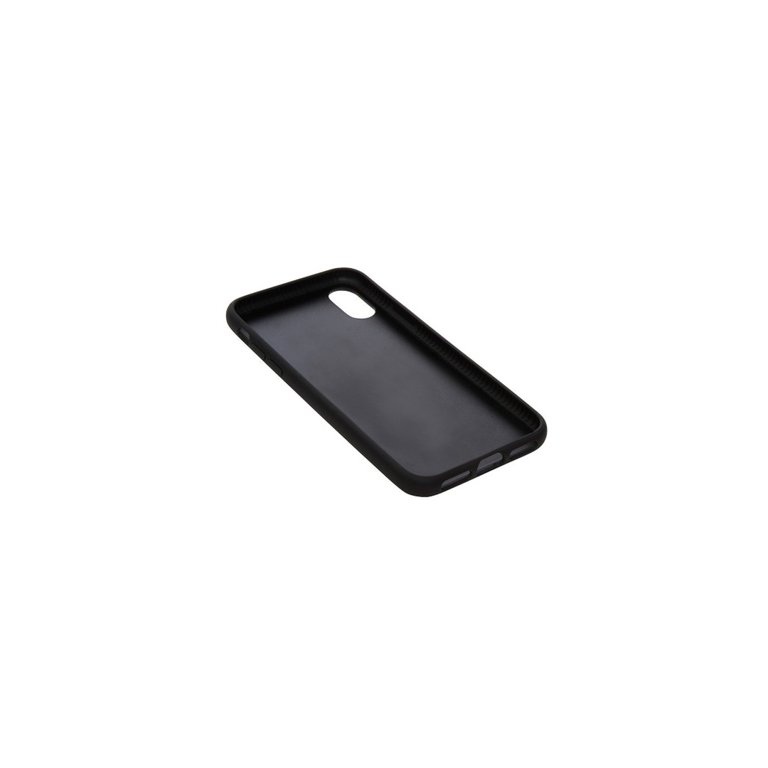 Knomo Moulded Open Face with leather inlay for iPhone X