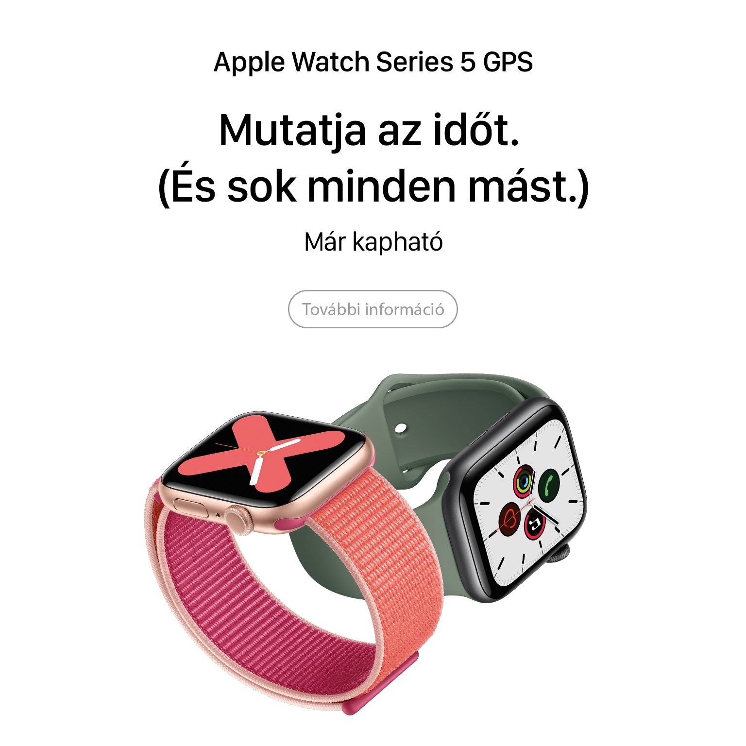 Apple Watch Series 5 GPS available