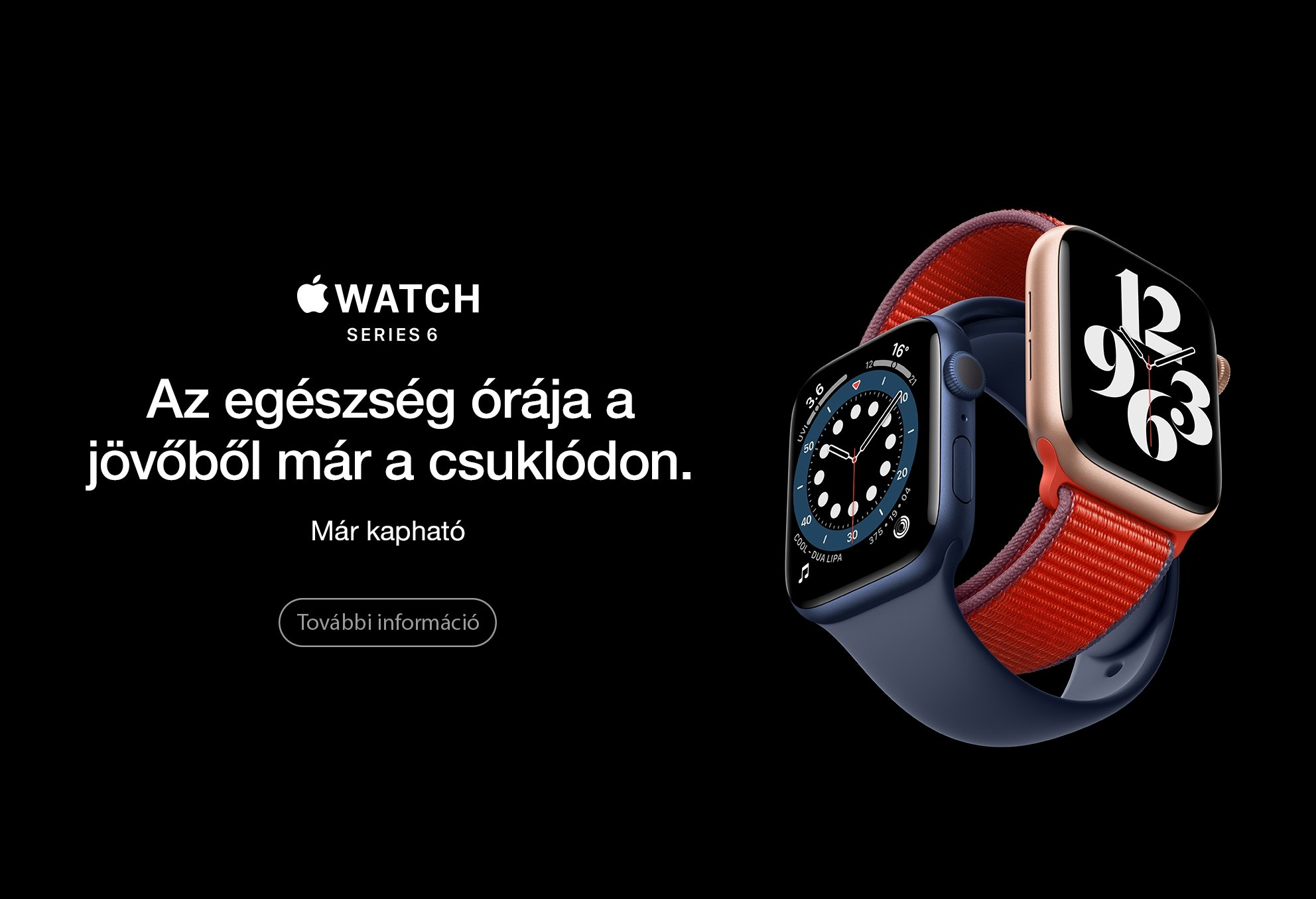 Apple Watch Series 6 Available comm