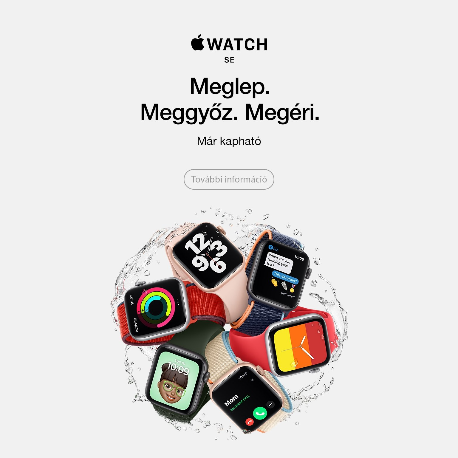 Apple Watch SE available comm