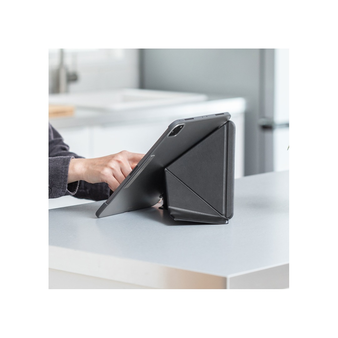 Moshi VersaCover for iPad Pro 11-inch (2nd Generation/1st Gen compatible) - Charcoal Black