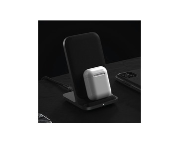 NOMAD Base Station Stand Wireless Charger - Black
