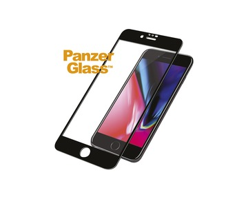 PANZER GLASS Apple iPhone 6/6s/7/8/SE (2020) Case Friendly - Black