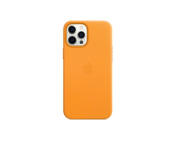 APPLE iPhone 12 Pro Max Leather Case with MagSafe - California Poppy  (Seasonal 2020 Winter)
