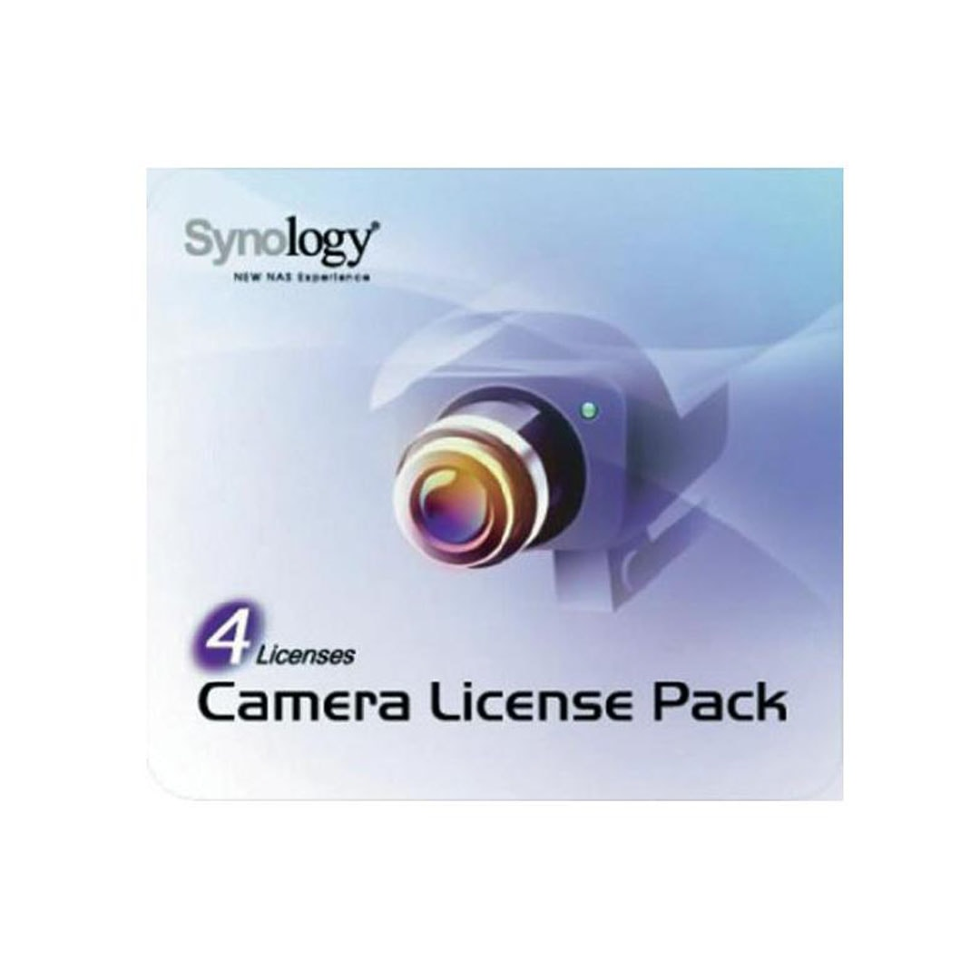 Synology Camera license pack - 4