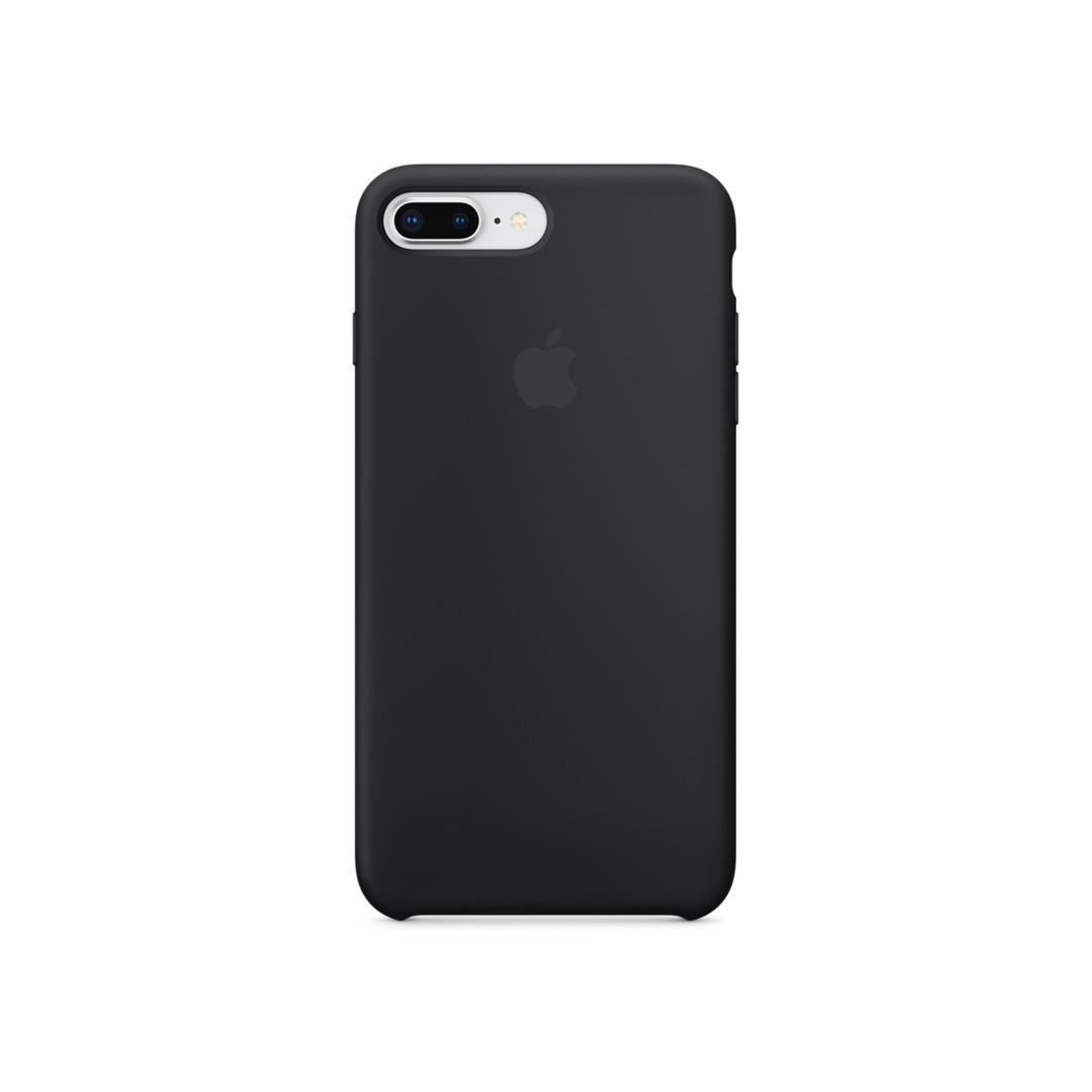 7b3b7fd57f Apple iPhone 8 Plus Silicone Case Black   iPhone és iPad tokok ...