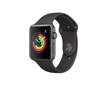 Apple Watch S3 42mm Space Grey Alu Grey