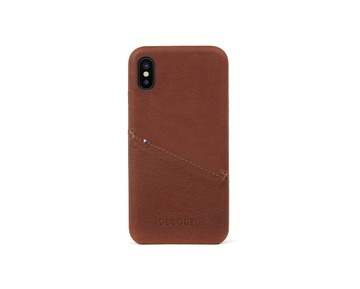 Decoded leather case for iPhone X
