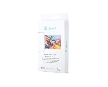 "LifePrint Film 3X4.5"" - 40 Pack"