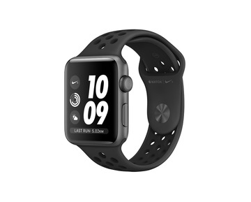 Apple Watch Nike+ Series 3 GPS Space Grey Aluminium Case with Anthracite/Black Nike Sport Band