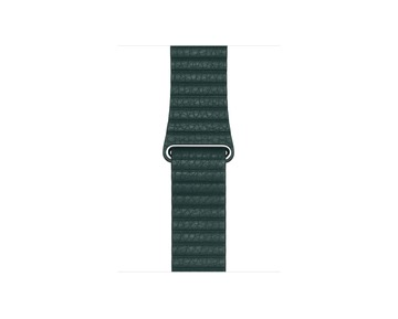 44mm Forest Green Leather Loop - Medium