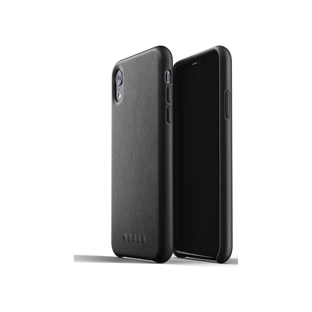 Mujjo Full Leather Case for iPhone Xʀ