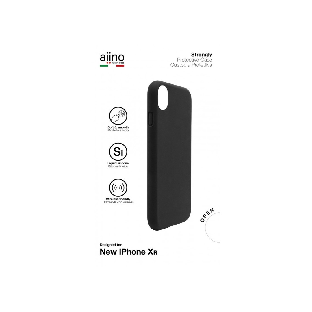 Aiino - Strongly case for iPhone XR - Premium - Black