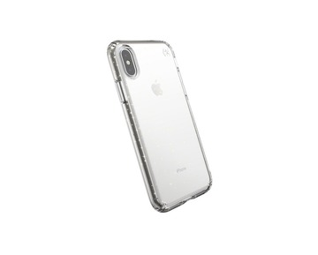 Speck Presidio Clear With Gold Glitter iPhone X/XS case