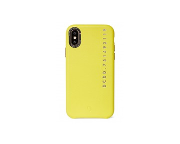 Decoded Leather Case for iPhone X/Xs - Yellow