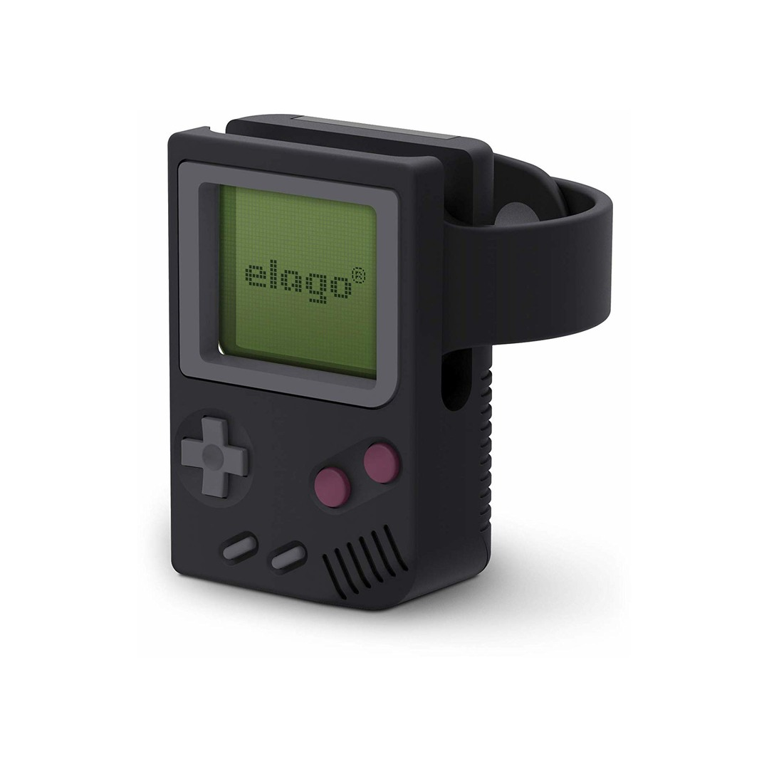 Elago Apple Watch Stand W5 (Gameboy) - Black