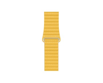 Apple Watch Meyer Lemon Leather Loop 44mm - Medium