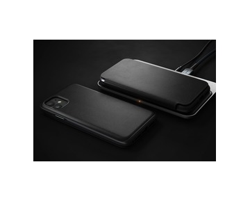 Nomad Folio Leather case iPhone 11 - Black
