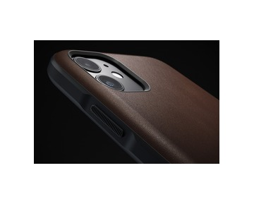 Nomad Rugged Leather case iPhone 11 - Brown