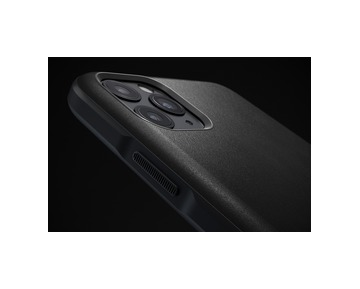 Nomad Rugged Leather case iPhone 11 Pro Max - Black