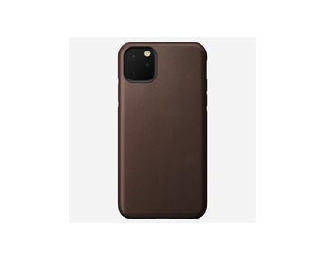 Nomad Rugged Leather case iPhone 11 Pro Max - Brown