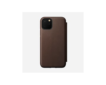 Nomad Folio Leather case iPhone 11 Pro - Brown