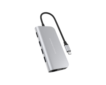 HyperDrive™ POWER 9-in-1 — USB-C Hub for iPad Pro, MacBook Pro/Air