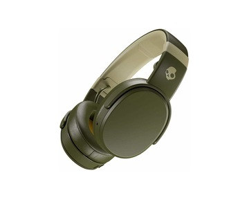 SKULLCANDY Crusher Bluetooth fejhallgató - Moss/Oilve/Yellow