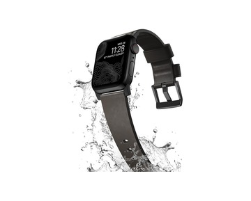 NOMAD Active Apple Watch szíj - Brown/Black - 44/42 mm