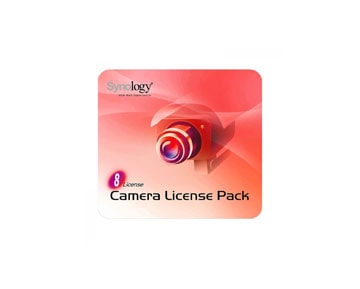 Synology Camera license pack - 8